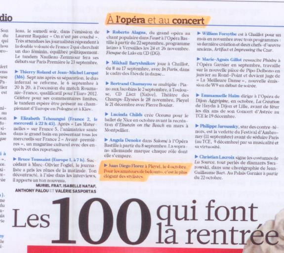 Le Figaro – 01/09/11 – 3