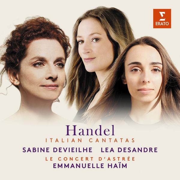 CD Lea Desandre, Haendel : Italian Cantatas