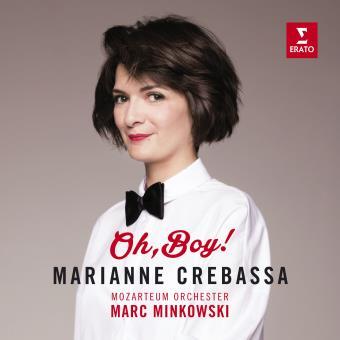"Premier CD de Marianne Crebassa : ""Oh Boy"" (Erato) - Parution le 28 octobre 2016"